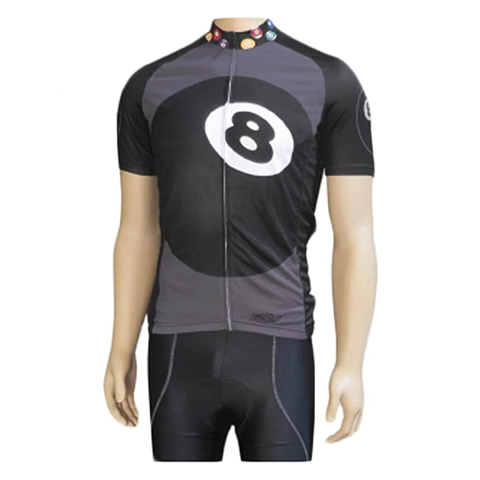 Clean Motion Short Sleeve Cycling Jersey - 8-Ball i11631260150015
