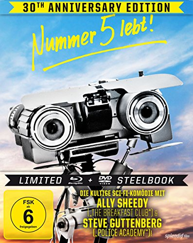 Nummer 5 lebt - 30th Anniversary Edition - Steelbook [Blu-ray] [Limited Edition]