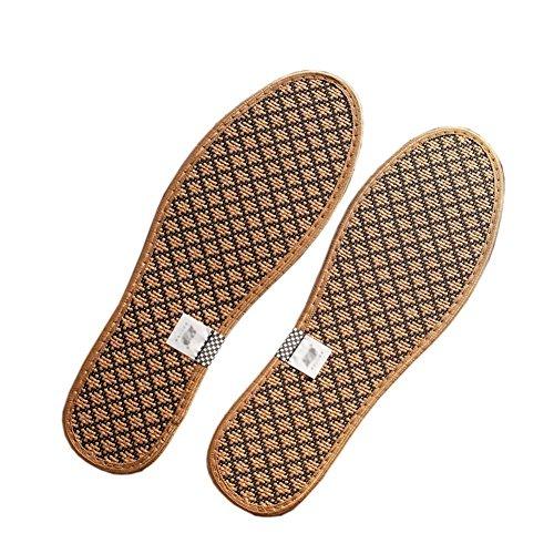 4 pares de plantillas sanas y respirables Zapatos desodorante inserta almohadones para hombres/mujeres, C