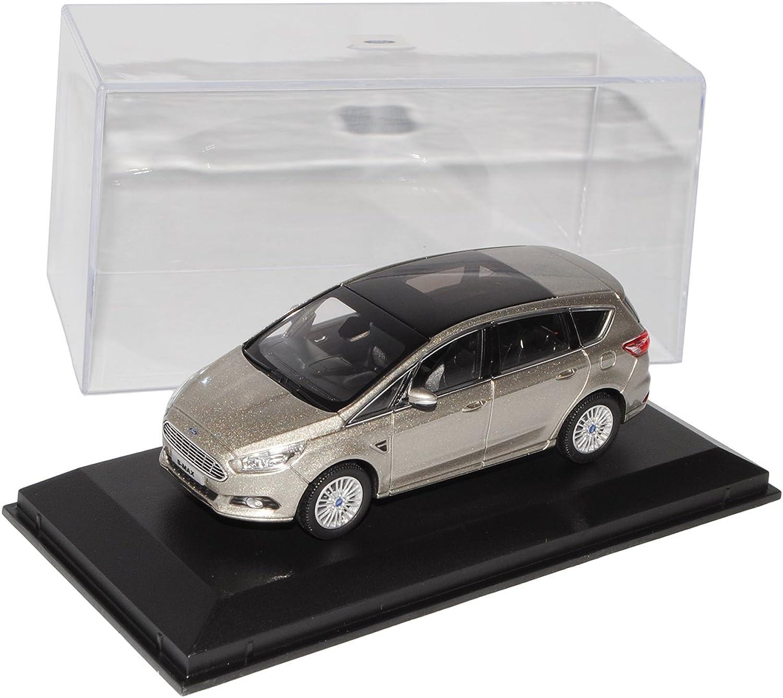 Norev Ford S-Max Van Silber Grau 2. Generation Ab 2015 1 43 Modell Auto mit individiuellem Wunschkennzeichen B01F6BNENM Merkwürdige Form  | Sale Outlet