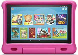"All-New Fire HD 10 Kids Edition Tablet – 10.1"" 1080p full HD display, 32 GB, Pink Kid-Proof Case"