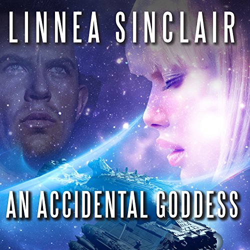 An Accidental Goddess audiobook cover art