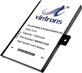 VINTRONS, BNRB1530, BNRB454261, BNRZ1000, Battery for Barnes & Noble BNRV100, BNRZ100, Nook Classic,