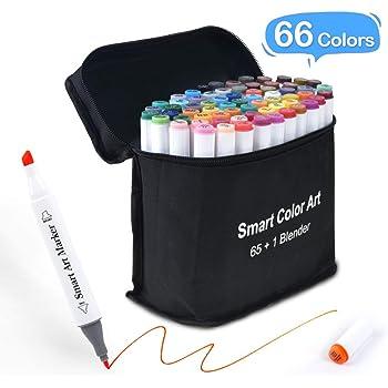 Coloring Sketch Marker 200 Set Double Tipped Kids Adults Alcohol Based Blender