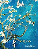 Vincent Van Gogh Planner 2021: Almond Blossom Painting | Artistic Impressionism Year Organizer: January - December | Large Dutch Masters Paintings Art ... Weekly Appointments, Monthly Meetings & Work