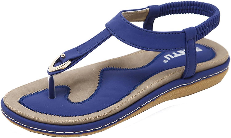 FAMOORE Wedge Sandals For Women 10 Women's Fashion Furry Pearls Flip-Flops Slippers Wedge Casual Flip-Flops