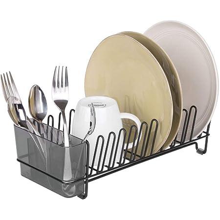 escurridor de platos de acero inoxidable plato cocina Escurreplatos Escurre