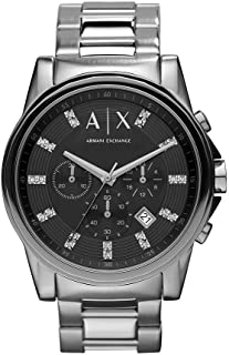 A X Armani Exchange Men's Stainless Steel Glitz Markers Watch