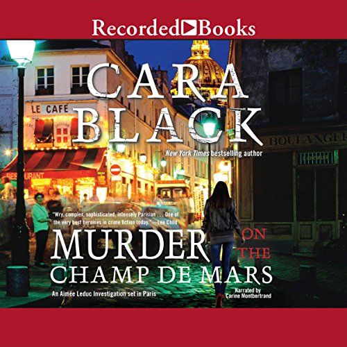 Murder on the Champ de Mars audiobook cover art