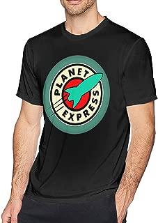 Hodenr Mens Classic Planet Express Tshirts Black