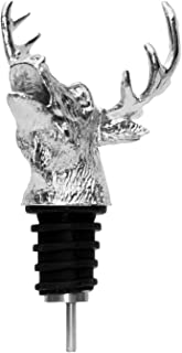 Cimostar Wine Stopper and Pourer Combination,Premium Aerating Pourer With Silicone Rubber Fitting
