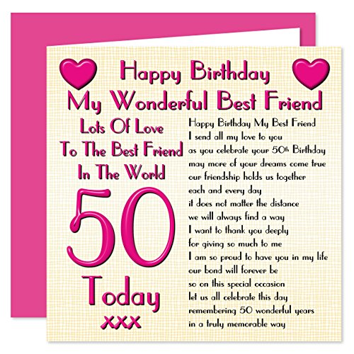 Best Friend 50th Happy...