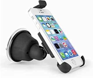 Cellet Windshield or Dashboard Suction Cup Phone Holder for iPhone 4 4s 5 5s 5c, Samsung S3 S4, S5.