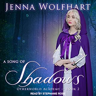 A Song of Shadows     Otherworld Academy Series, Book 2              Written by:                                                                                                                                 Jenna Wolfhart                               Narrated by:                                                                                                                                 Stephanie Rose                      Length: 5 hrs and 12 mins     1 rating     Overall 5.0