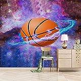 Wall Murals for Bedroom Basketball Arc Wallpaper 3D Picture Decoration Fresco Decor Bedroom 150×105cm