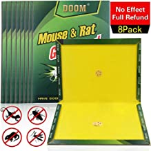 Mouse Trap, Mice/Rat Glue Traps, Peanut Butter Scented Mouse Glue Boards, Indoor and Outdoor Extra Large Sticky Boards, Suitable for Capturing Indoor and Outdoor Harmful Animals and Pests (8 Pack)