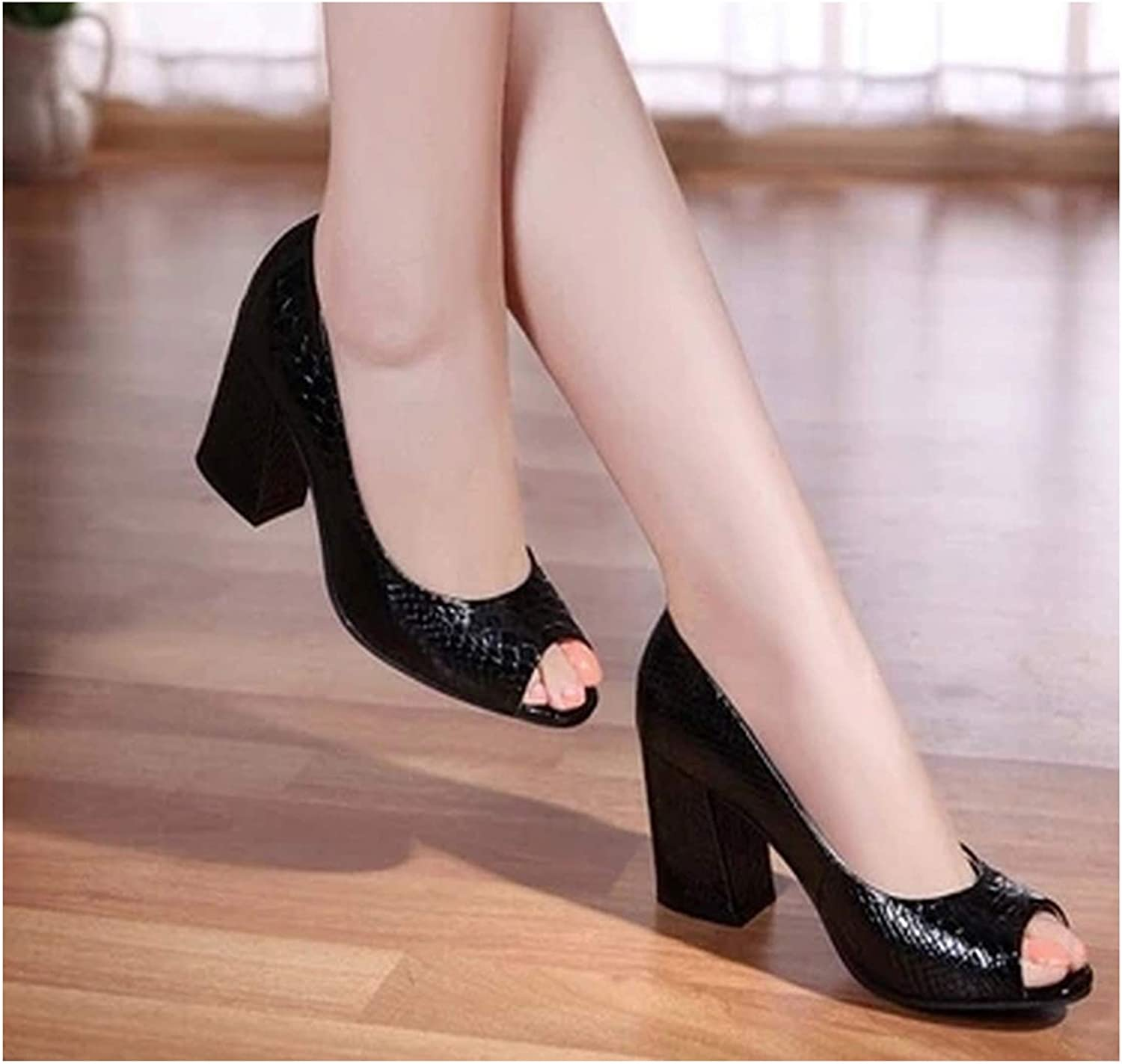 PREtty-2 2019 Summer shoes Woman Open Toe Women Genuine Leather High Heel Sandals Casual Platform Sandals