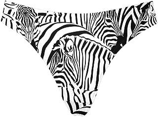 INTERESTPRINT Women's Low Rise Thong Underwear Panties(XS-3XL)