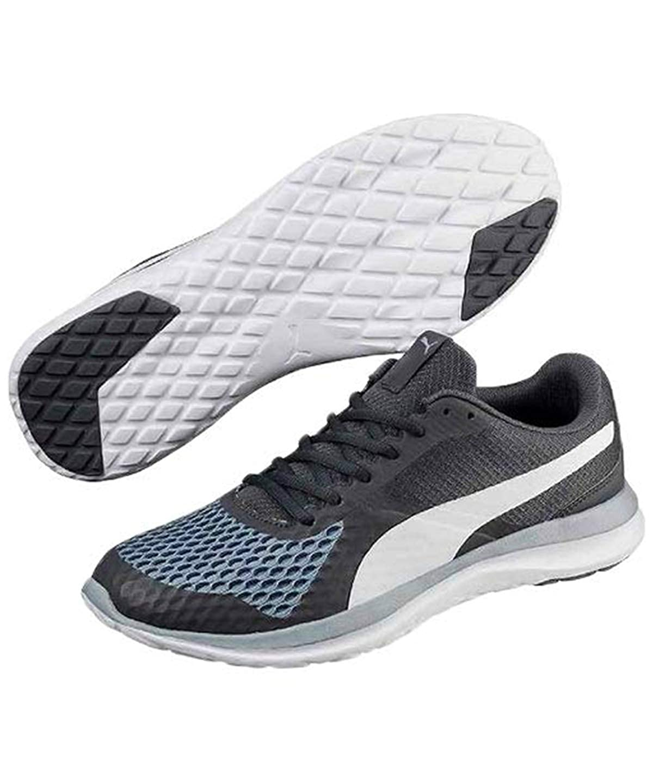 A gran escala desagradable Ubicación  Buy Puma Men's Flex T1 Reveal Iron Gate White Sneakers at Amazon.in