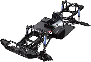 Assembled Frame Chassis for 1/10 RC Crawler SCX10 II 90046 90047,SCX10 II Upgrades (Without Wheels)