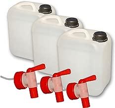 MC24 Auslaufhahn 1 St/ück Dosierhahn f/ür 5 und 10 Liter Kanister