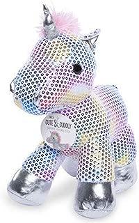 Cute & Cuddly Shimmer Unicorn Sequin Plush Toy 12 inch