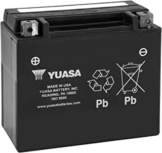 New Yuasa Maintenance Free Motorcycle Battery - 2010-2013 Ducati Multistrada 1200