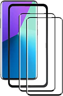 TenYll for Oppo Find X2 Pro Screen Protector, 9H Hardness HD Clear Easy Tempered Glass Screen Protector for Oppo Find X2 P...