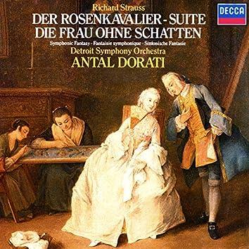 """Richard Strauss: Der Rosenkavalier Suite; Symphonic Fantasie from """"Die Frau ohne Schatten"""""""
