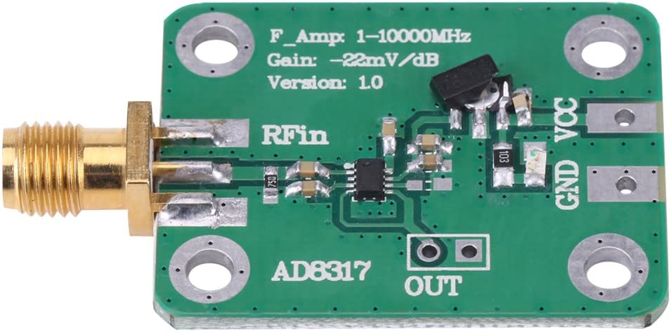 Bindpo RF Logarithmic Detector Radio Ranking TOP2 1M-10000MHz Inventory cleanup selling sale Frequen AD8317