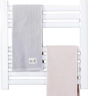 ZZZMJ Secador Toallas Consumo Ready Warm Twin Towel White Bajo Consumo Doble FuncióN Radiador Y Seca Toallas Apto para BañO DiseñO Vertical