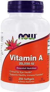 A 25,000 IU - Now Foods - 250 - Softgel