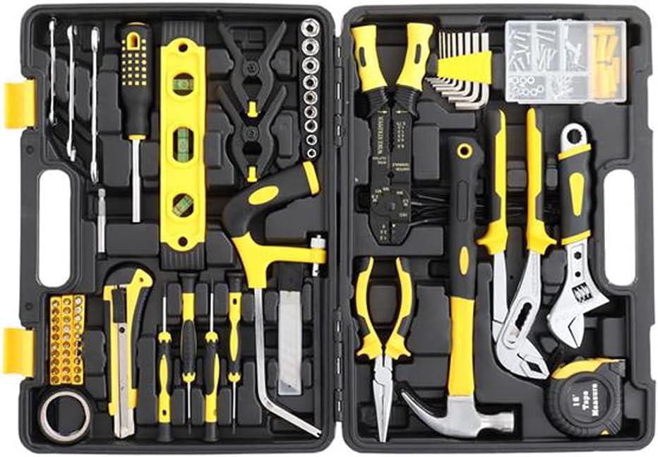 JJCF Detroit Mall 218 Piece Tool Box Kit Max 42% OFF Small Basic Home Set - Great f