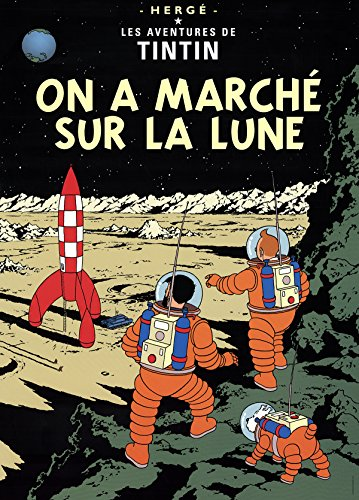 Poster Moulinsart Tintin Album: Explorers on the Moon 22160 (70x50cm)