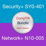 CompTIA Exam Prep Bundle (Security+ SY0-401 and Network+ N10-005)
