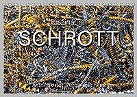 Faszination Schrott (Tischkalender 2022 DIN A5 quer): Faszinierende Ansichten von zum Recycling gesammelten Metallschrott. (Monatskalender, 14 Seiten )