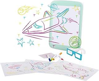 لوحة رسم ثلاثية الأبعاد ، لوحة رسم خطية بانبعاث ضوئي ثلاثي الأبعاد ، لوحة كتابة مشعة للضوء الفلوريسنت ، مجموعة لوحة كتابة ...