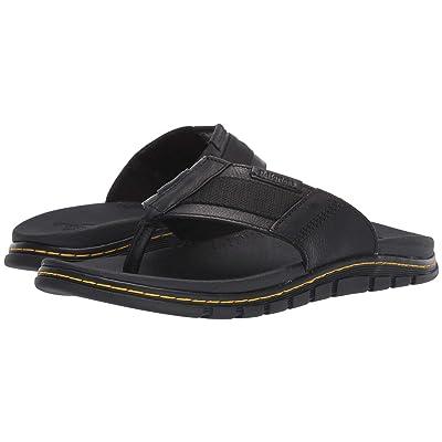 Dr. Martens Athens Thong (Black Carpathian/Webbing) Sandals