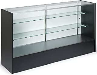 used retail glass display cases