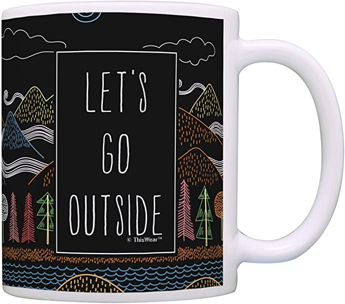 Outdoors-gift  Travel cup Coffee Cozy  New adventures To go cup  Coffee sleeve  Insulated tumbler