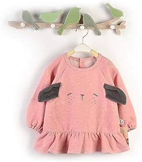 0-3 Years Old Baby Bib Girl Long-sleeved Waterproof Anti-dressing Long-sleeved Protective Clothing Eating Bib Unisex Baby ...