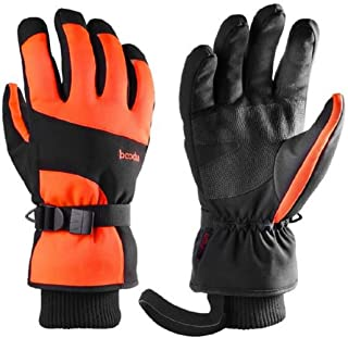 Límite-MX Ski Gloves Winter Waterproof Skateboard Gloves Warm Touch Screen Windproof Snow Gloves for Men and Women