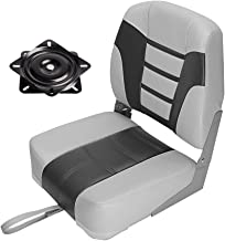 MSC Folding Boat Seat with Seat Swivel 360 Degree Rotation