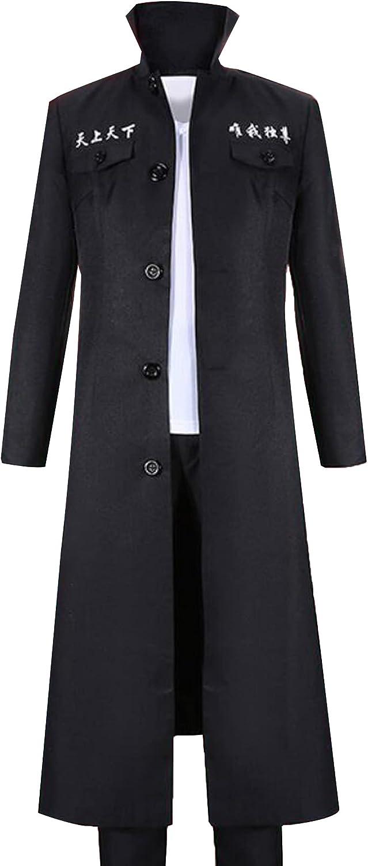 Poetic discount Walk Anime Tokyo Cash special price Revengers Cosplay Black Long Uniform Tre