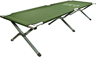 VIVO Camping Cot, Portable Fold up Bed, Military Style Cot, Carrying Bag Included
