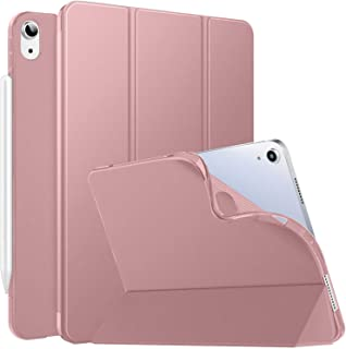 """DuraSafe Cases for iPad Air 4 2020 - 10.9"""" A2316 A2324 A2325 A2072 Smart Tri Fold Lightweight Cover with Soft Silicone Bac..."""