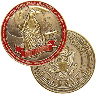 Medals of America Saint Barbara Challenge Coin Gold