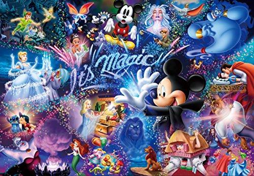 500ピース ジグソーパズル ディズニー It's Magic! ぎゅっとシリーズ 【ステンドアート】(25x36cm)