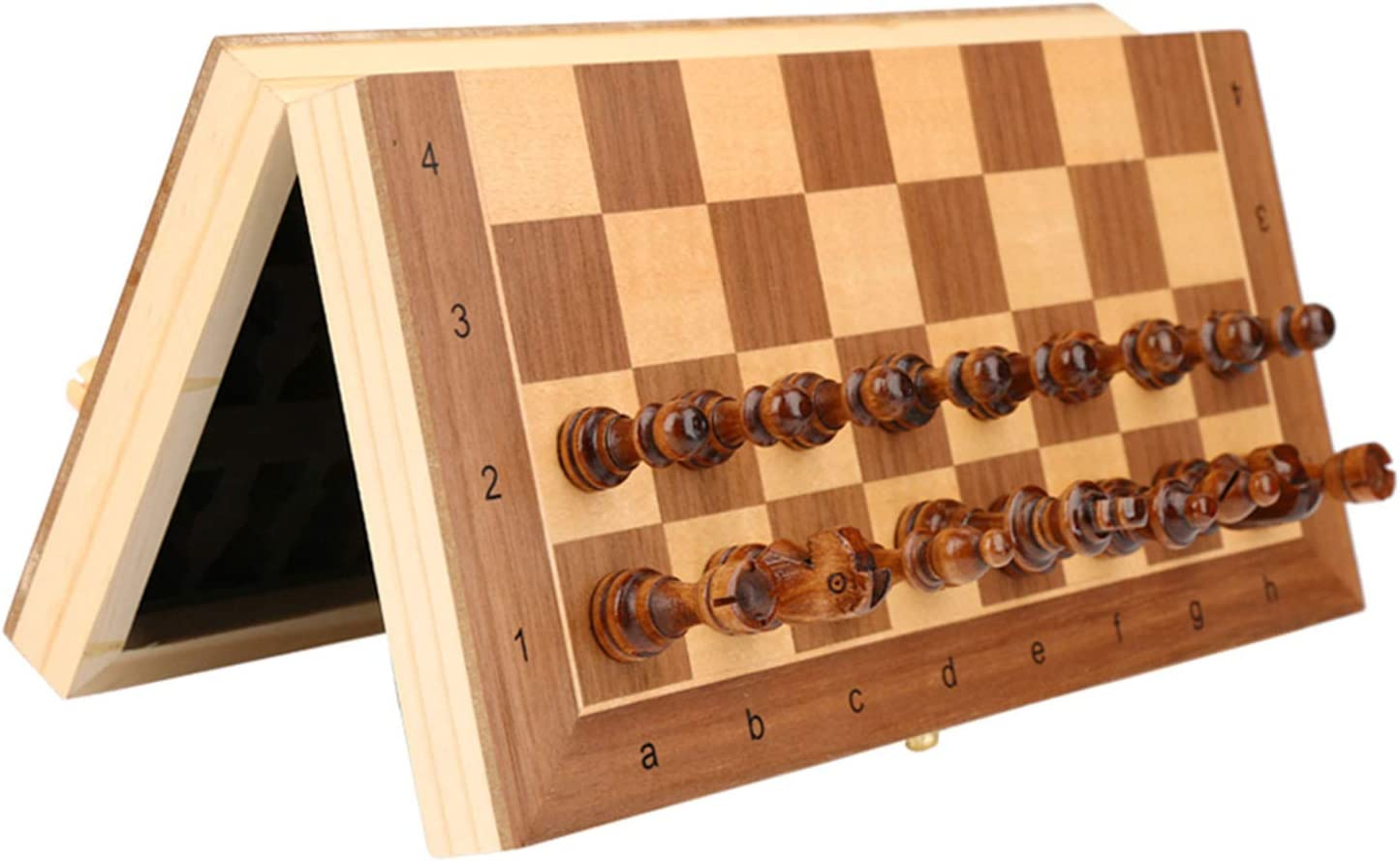 Classic Wooden Chessboard Large special 5% OFF price Game Portable Intern Magnetic Folding