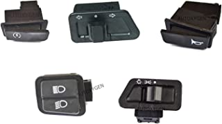 AUTOXYGEN Scooter Modular Switches with Self/indicator/Horn/Dipper/Head Light (Set Of 5) For Honda Activa/Yamaha Ray/Suzuk...